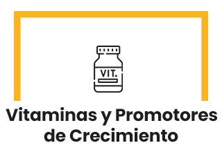 Vitaminas / Promotores de Crecimiento
